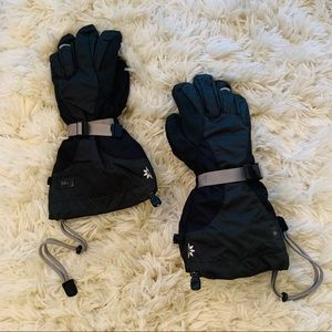 REI ski/cold weather gloves - black